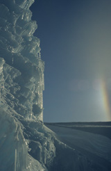 Antarctic landscape photographed by John Digby
